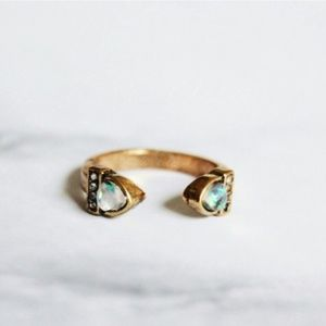 Jewelry | Open opal midi ring